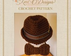 This listing is for the instant pdf download for the crochet pattern of the Classic Fedora, not the finished product. Because of the nature of the sale, all pattern sales are final. This pattern is in English. Unfortunately, I am unable to offer it in any other language at this time.  Skill Level: Experienced Beginner 8 Sizes included... Preemie Newborn Baby Toddler Child Preteen / Adult Small Adult Regular Adult Large  Lots of pictures included for illustration and explanation.   **If you…