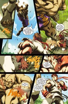 Street Fighter II Issue #2 - Read Street Fighter II Issue #2 comic online in high quality