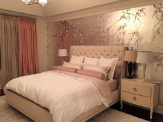 Sabra    Griffin and Wong chinoiserie handpainted wallpaper
