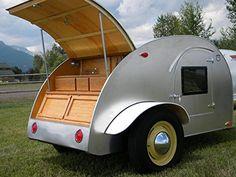 8' Teardrop Camper Trailer Plans (DIY Plans) Fun to build!