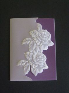 Two roses card