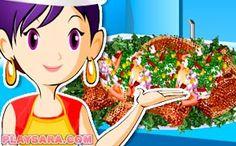 Carne de porc la grătar Sara's Cooking Class, Tiramisu, Pasta Carbonara, Fettuccine Alfredo, Pavlova, Ratatouille, Princess Peach, Sushi, Character