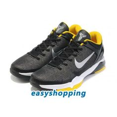 release date ff47f 2588c Nike Zoom Kobe 7 VII Black Yellow, cheap Nike Kobe VII, If you want to look Nike  Zoom Kobe 7 VII Black Yellow, you can view the Nike Kobe VII categories, ...