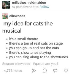 """Men who send inappropriate messages on OkCupid are forced to read them in front of a live studio audience. Theatre Nerds, Musical Theatre, Theater, Broadway Theatre, Theatre Jokes, Musicals Broadway, Cats Musical, Theatre Problems, Tumblr Funny"