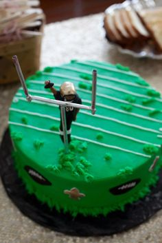 Jimmy Graham dunk cake - thanks to Kati Lockley!