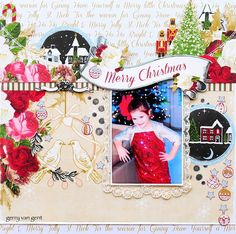 Layout: Merry Christmas {Webster's Pages}