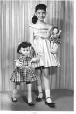 Walking Dolls  Loved mine. I had a ponytail, dress, socks and shoes and dolls just like this pic