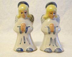 Vintage Angel Salt & Pepper Shakers, Vintage Kitchenware, Praying Angels, Salt and Pepper Shakers, Serving, Formal Dining, Xmas