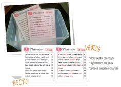 Fluence et autres activités pour les ateliers de lecture chez Classeur d'école
