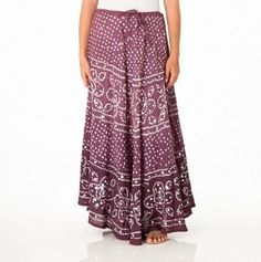 Bohemian style skirt - love long, flowy skirts