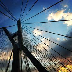 * Ponte Octávio Frias de Oliveira -  Ponte Estaiada