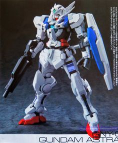 GUNDAM GUY: 1/144 Gundam Astraea [RG Gundam Exia Conversion] - Custom Build