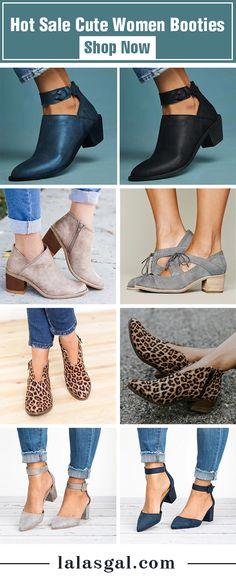 e2ba05cbe Hot Sale Cute Women Booties  spring  Summer  Fashion  Shoes