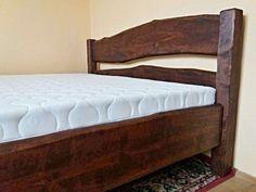 Manželská postel - masiv, olše - mořeno Bed, Furniture, Home Decor, Decoration Home, Stream Bed, Room Decor, Home Furnishings, Beds, Arredamento