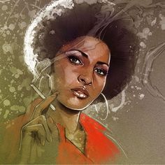 Morning Coffey African American Art, Disney Characters, Fictional Characters, Disney Princess, Painting, Painting Art, Paintings, Fantasy Characters, Painted Canvas