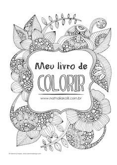Livro para colorir para adultos grátis em PDF | http://nathaliakalil.com.br/livro-para-colorir-para-adultos-gratis-em-pdf/