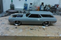 build progress on my personal Sport Wagon I'm building as a display model for my kits.