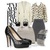 Love the bag & shoes