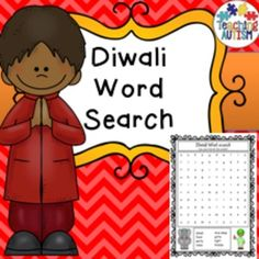 Diwali Word Search Fun ActivityThis download includes 3 word searching activities. All vocabulary is linked to Diwali theme.Comes in col.This word search is part of my huge $$ saving growing bundle of word search activities available here.Click below to find: $2.99 and under cart fillers.