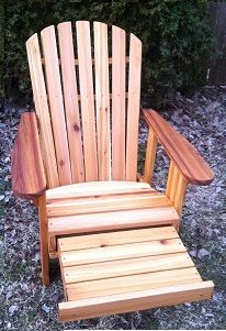 Hey, I found this really awesome Etsy listing at https://www.etsy.com/listing/184763227/reclining-adirondack-chair-with-built-in