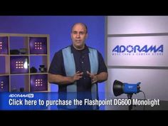 Flashpoint DG600 Monolight: Product Review: Adorama Photography TV