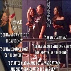 Sophia❤️ I love her so much how can you not like this beautiful girl!!!<<< I like her. I respect her bc she is dating Liam and he is happy with her. But she has earned my full respect now, since she asked about the being ok or not, thats just a wonderful thing to do. :)