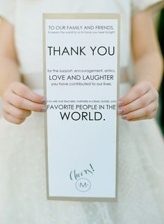 Give your wedding that personal touch with these 16 lovely wedding signs...