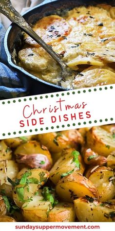 Find the perfect easy side dishes for Christmas! Our collection of Christmas side dishes makes it easy to plan your holiday menu ahead of time. #SundaySupper #christmas #christmasrecipes #sidedishes #dishes #holiday
