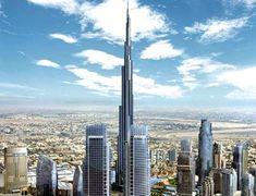 rascacielos edificios ciudades mundo burj khalifa dubai torres lugares edificio