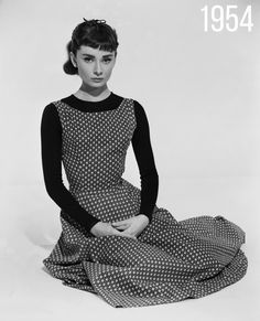 Audrey Hepburn. A beauty and elegance that never once faded.