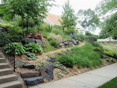 Landscaping Front Yard Slope On A Landscapingfrontyard Sloped