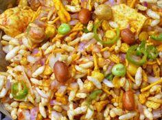 चटपटा भेल पूरी या झाल मुढ़ी (Chatpata Bhel Puri or Jhal Muri)