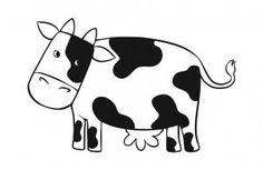 how to draw a simple cow step 6