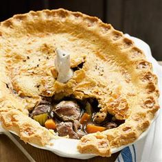 Game pie recipe. Bryn William's game recipe is a fabulous dinner party dish; the filling can be a selection of whatever you like. A mix of pheasant, venison and pigeon is a great combination.