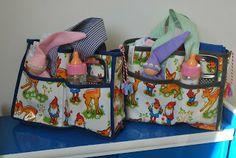 NelleKus,  gevulde poppenluiertas voor dochter als baby 2 geboren wordt