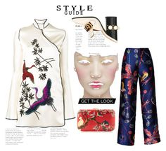"""""""Birds of a feather flock together"""" by obsessedaboutstyle ❤ liked on Polyvore featuring Attico, Gucci, Romance Was Born and Silvia Furmanovich"""