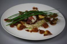 Gebakken zeeduivelfilet in parmaham - Recept | 24Kitchen