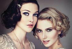 Great-Gatsby-Wedding-Makeup #greatgatsby
