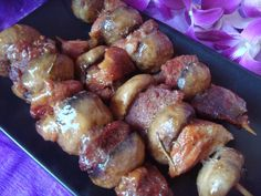 New Year& knighthood Stuffed Mushrooms, Stuffed Peppers, Pretzel Bites, Pulled Pork, Healthy Life, Grilling, Remedies, Food And Drink, Appetizers