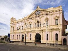 "Kalgoorlie, Goldfields and Esperance LINK1 ""Kalgoorlie Town Hall"""