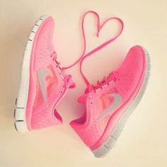 Netball shoes heart - <3