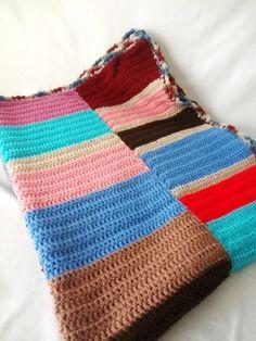 VINTAGE BOHEMIAN Hand Crocheted AFGAN Throw by SweetSavannah