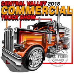 Truck Signs, Truck Art, Silk Screen Printing, Peterbilt, Antique Cars, Trucks, Screenprinting, Vehicles, Big