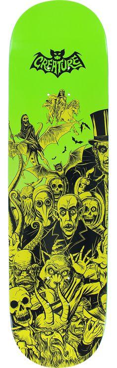 Creature Skateboards Skateboard Decks, Creature Skateboards, Creatures, Skateboarding, Skateboards, Skate Board, Skateboard, Surfboard