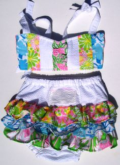 Okay... I need a baby girl NOW so she can wear this :)