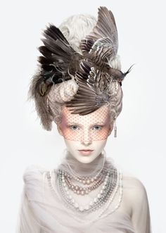 """La Coiffure Oiseau"" by Alexia Sinclair Photography, 2013."