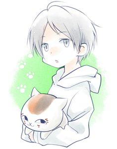 Chibi Natsume & Nyanko Sensei
