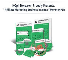 Affiliate Marketing Business in a Box Monster PLR