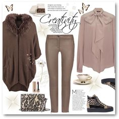 Cool neutrals by sundango on Polyvore