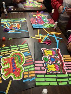 Classroom Art Projects, School Art Projects, Art Classroom, Art Club Projects, Elementary Art Rooms, Art Lessons Elementary, Art Lessons For Kids, Art For Kids, 2nd Grade Art